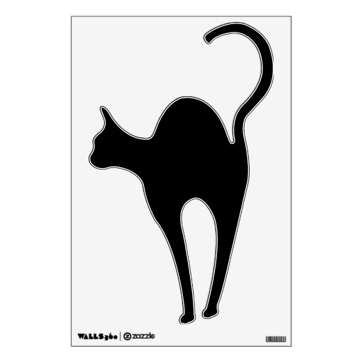512x512 Graphics For Halloween Arched Black Cat Graphics Www