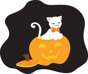 300x251 Black Cat Clipart Background