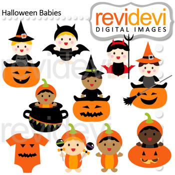 350x350 Halloween Clipart Bundle Halloween Baby Sock Monkey Clip Art By