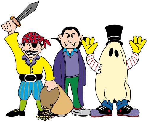 500x413 Halloween Costume Clipart