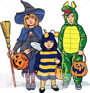 379x388 Halloween Kids Clipart Halloween Clipart Amp Backgrounds