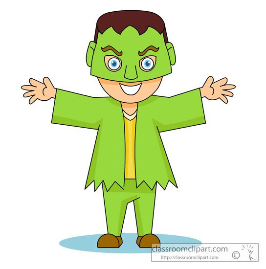 544x550 Halloween Monster Costume 913.jpg Halloween Clipart