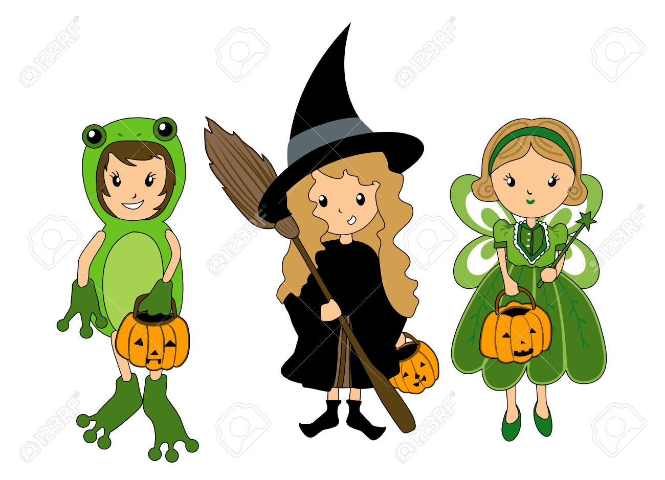 1300x939 Costume Clipart Halloween Cartoon