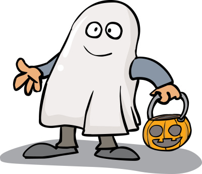 400x344 Halloween Characters Clipart