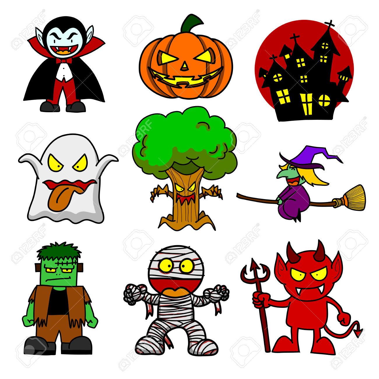 1300x1300 Images Of Halloween Cartoon Character