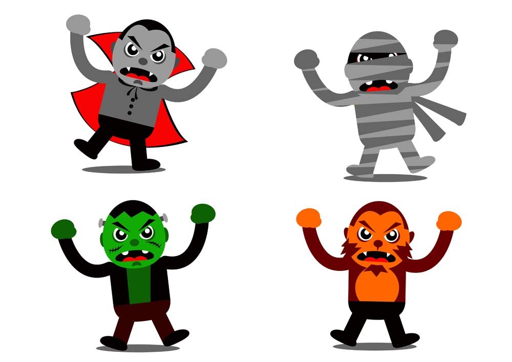 1000x707 Character Clipart