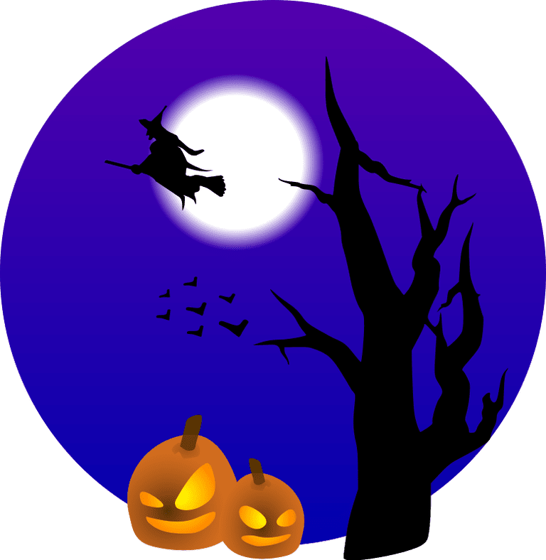 768x788 1 Free Halloween Clip Art For All Of Your Projects