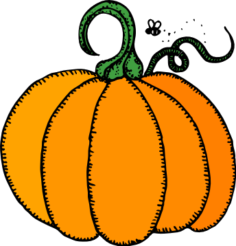 344x358 Halloween Pumpkin Clip Art Clipart Panda