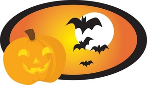 300x174 Kids Happy Halloween Clipart 2 Image