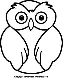 270x335 Owl Clipart Black And White Click To Save Image