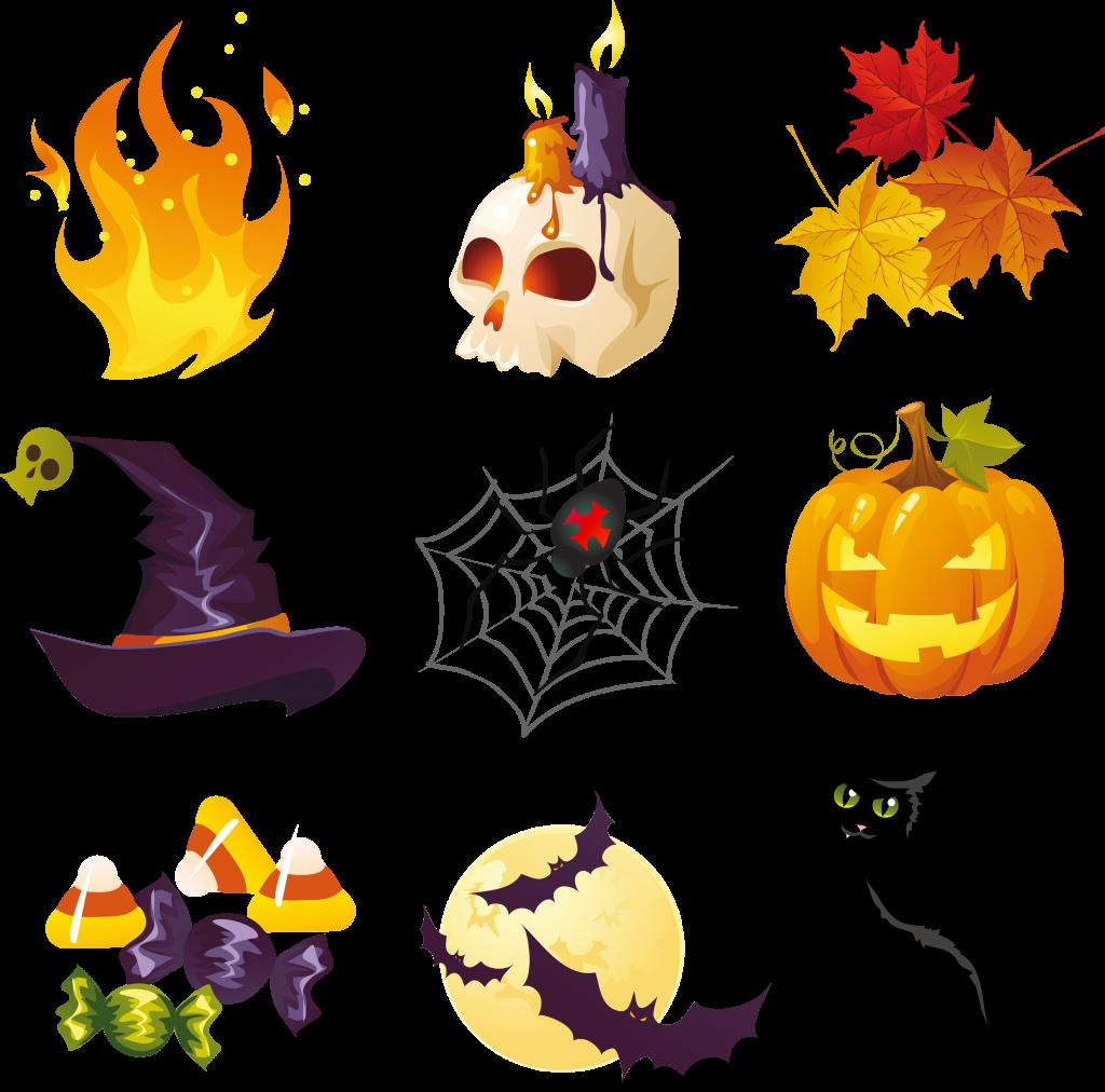 1024x1012 Halloween ~ Halloween Clipart Incredible Image Inspirations Spooky