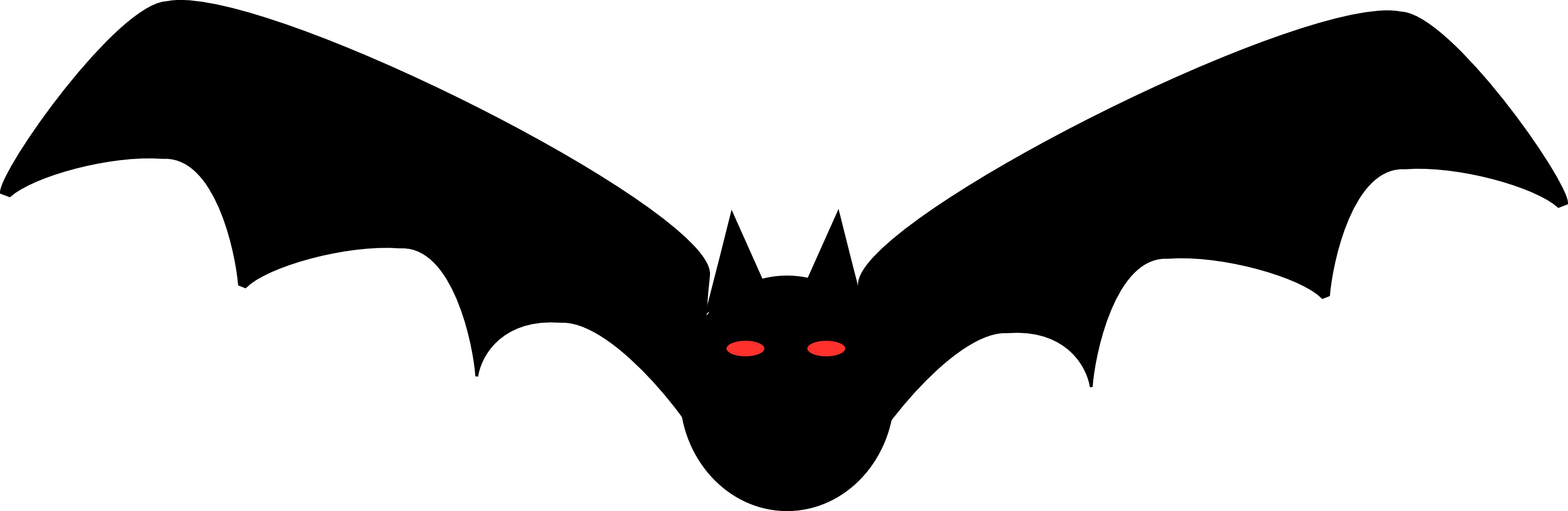3200x1044 Halloween ~ Halloween Clipart Png Clipartxtrasntage Black