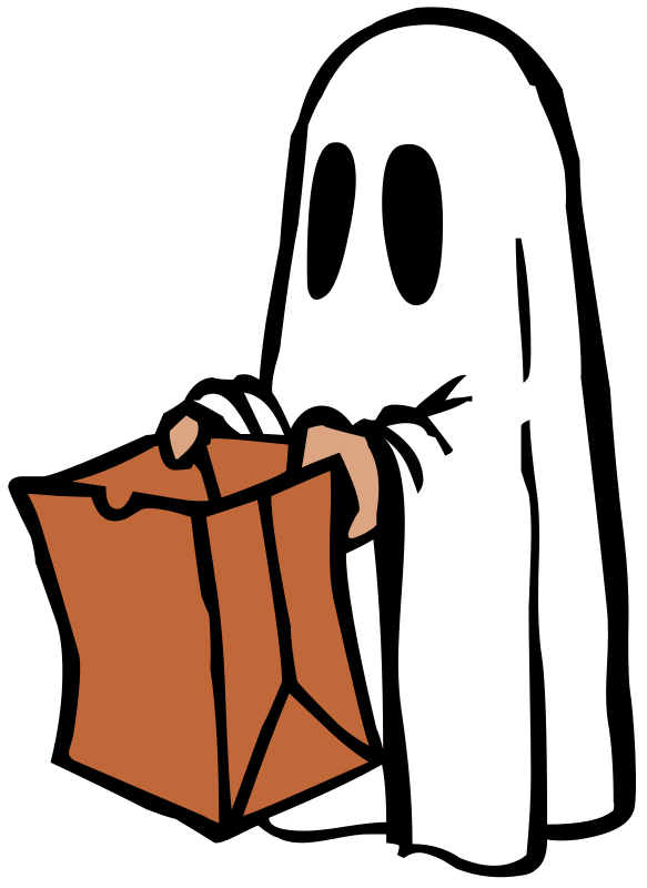 583x800 Ghost Clipart Kid