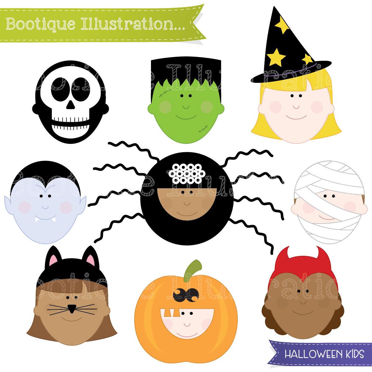 1200x1200 Halloween Clipart. Halloween Kids Clipart. Halloween Clip Art