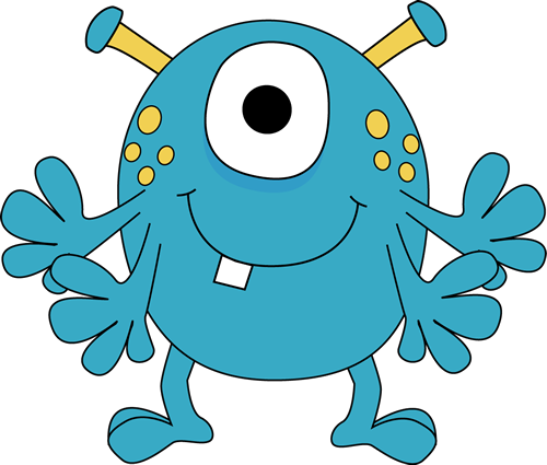 500x425 Monster Clipart For Kids Four Arm Monster Clip Art Image