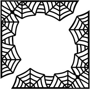 Halloween Cobwebs Clipart