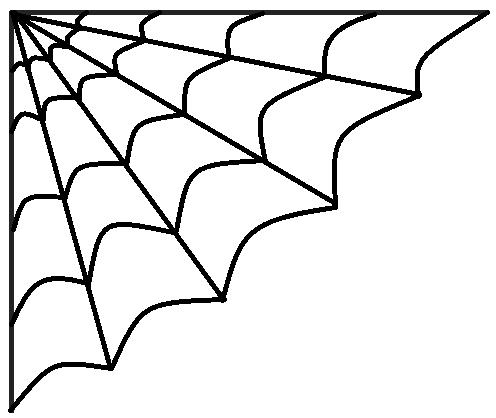 496x418 Background Clipart Spider Web