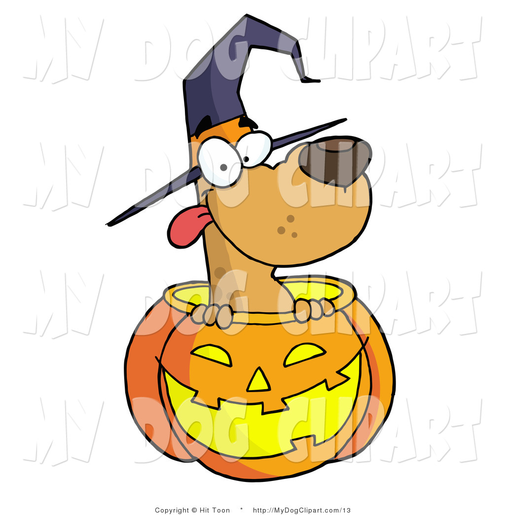 1024x1044 Clip Art Of A Halloween Pooch By Hit Toon
