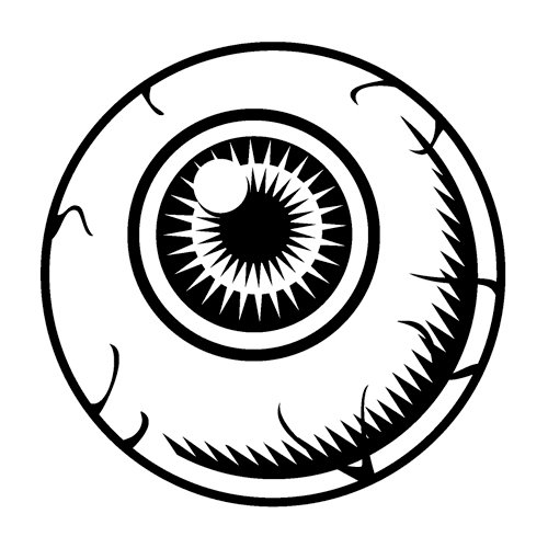 500x500 Drawn Eyeball Halloween