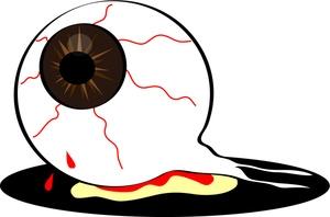 300x198 Eyeball Clipart Halloween