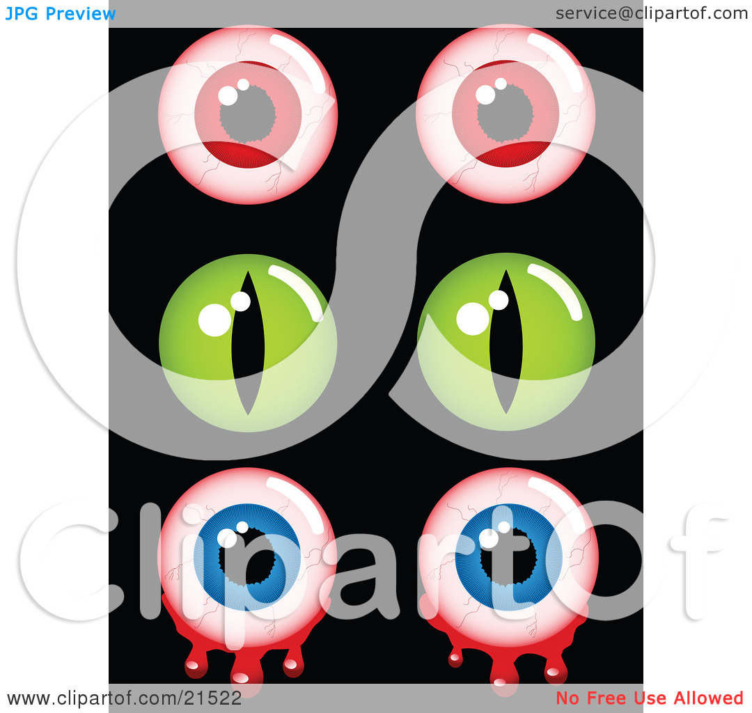 1080x1024 Eyeball Clipart Creepy
