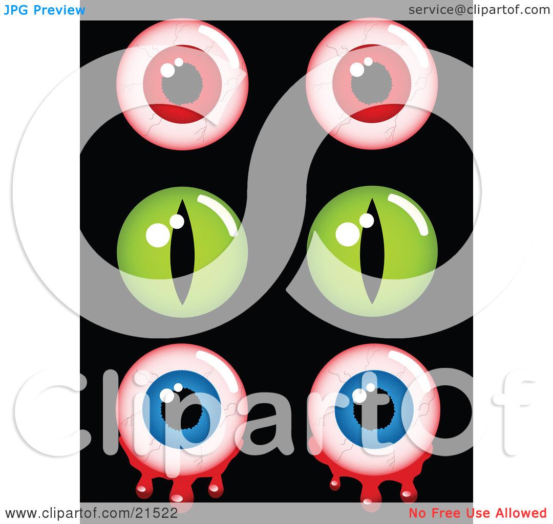 cf02f32f61f8 1080x1024 Eyeball Clipart Creepy