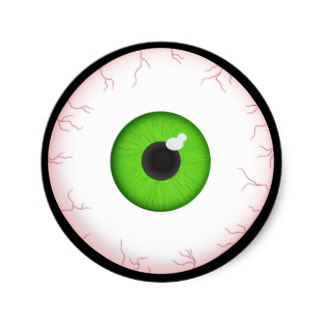 324x324 Halloween Eyeball Craft Supplies Zazzle.co.uk