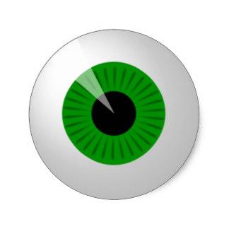324x324 Halloween Eyeball Stickers Zazzle.co.uk