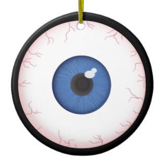 800040fc7d09 324x324 Scary Eyes Eye Eyeballs Ornaments Amp Keepsake Ornaments Zazzle