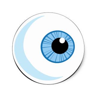 8b9c222a2aa3 324x324 Scary Eyes Eye Eyeballs Stickers Zazzle.co.nz