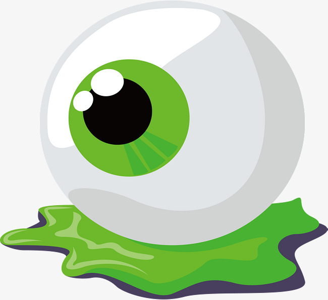 650x595 Halloween Jelly Eyeball, Vector Png, Eyeball, Green Eyeball Png