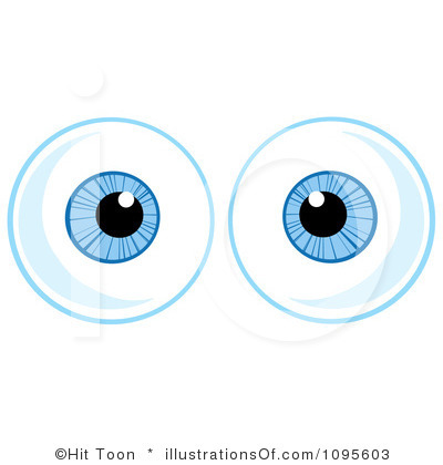 400x420 Eye Balls Clipart