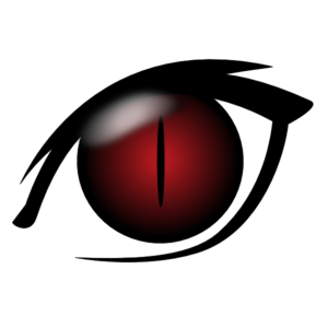 300x300 Devil Eye Clip Art