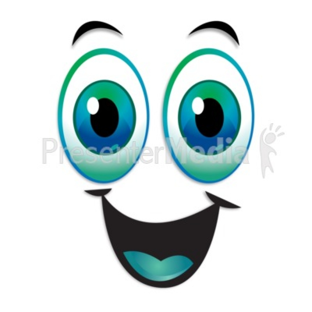 1024x1024 Eyeball clipart excited eye