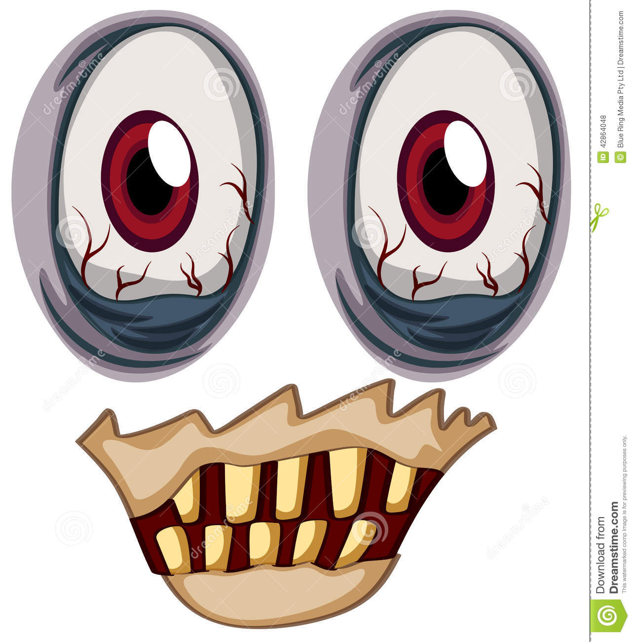 1285x1300 Eyeball clipart zombie