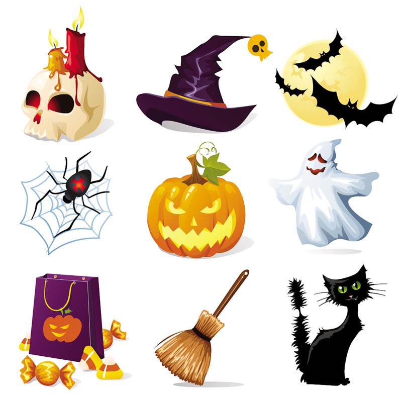 800x800 Halloween Decorations, Backgrounds, Patterns