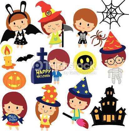 412x417 Halloween Fancy Dress Clipart