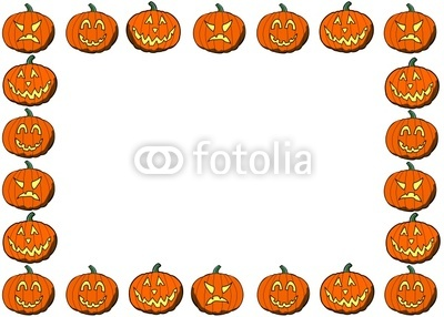 400x286 Pumpkin Border Clipart – Fun for Christmas