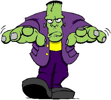 390x351 Frankenstein Clipart