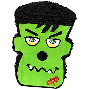 350x350 Frankenstein Halloween Pinata, 20 Party Game