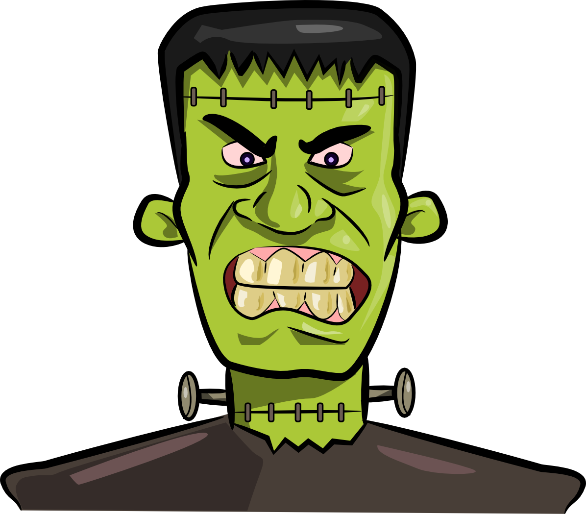 1196x1049 Halloween frankenstein clipart kid 4