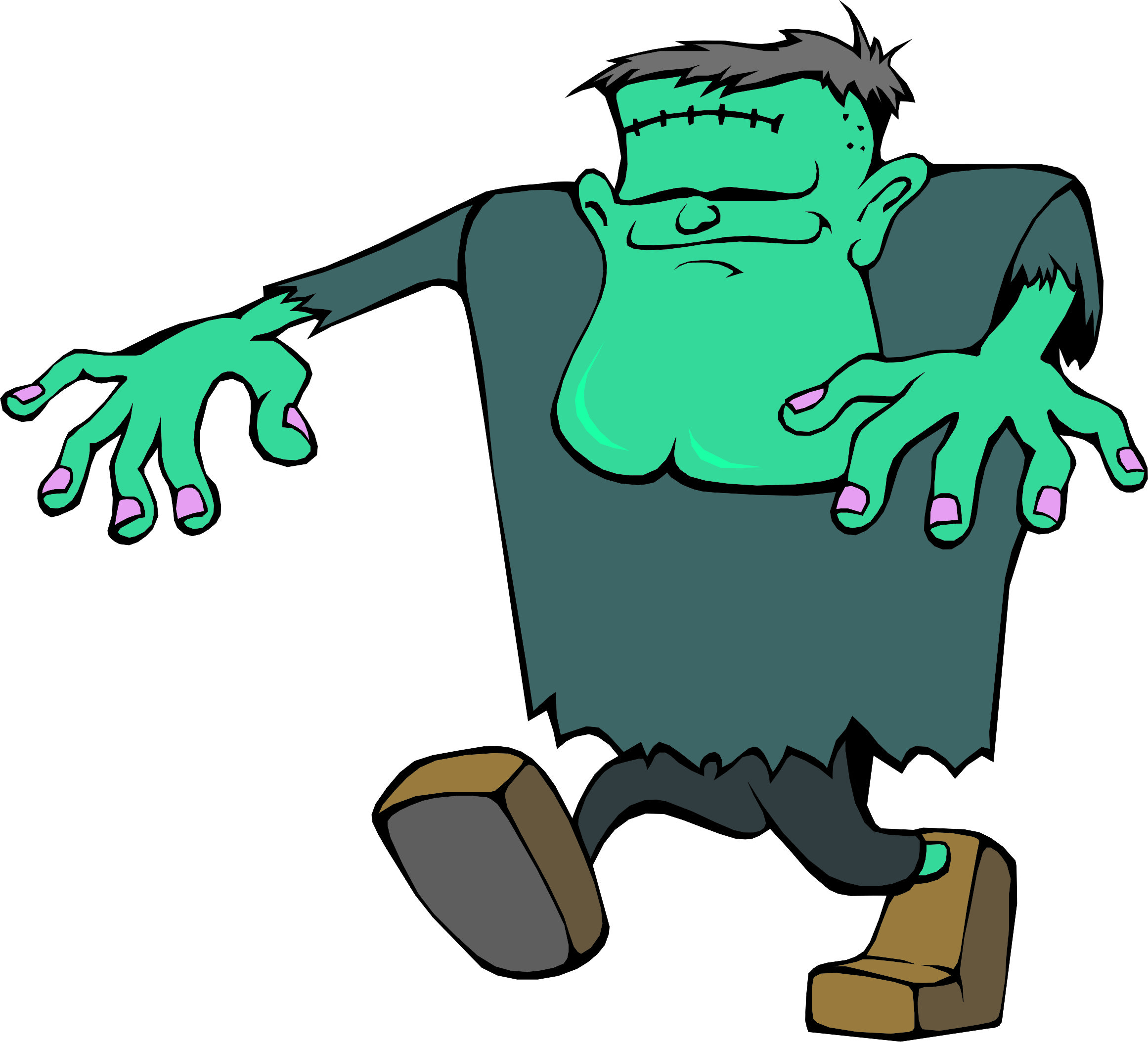 2322x2107 Frankenstein cartoon images clip art