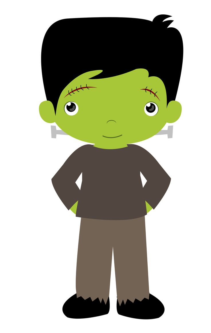 736x1157 Halloween frankenstein clip art