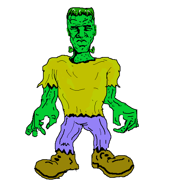 600x600 Cute frankenstein clipart clip art is kid