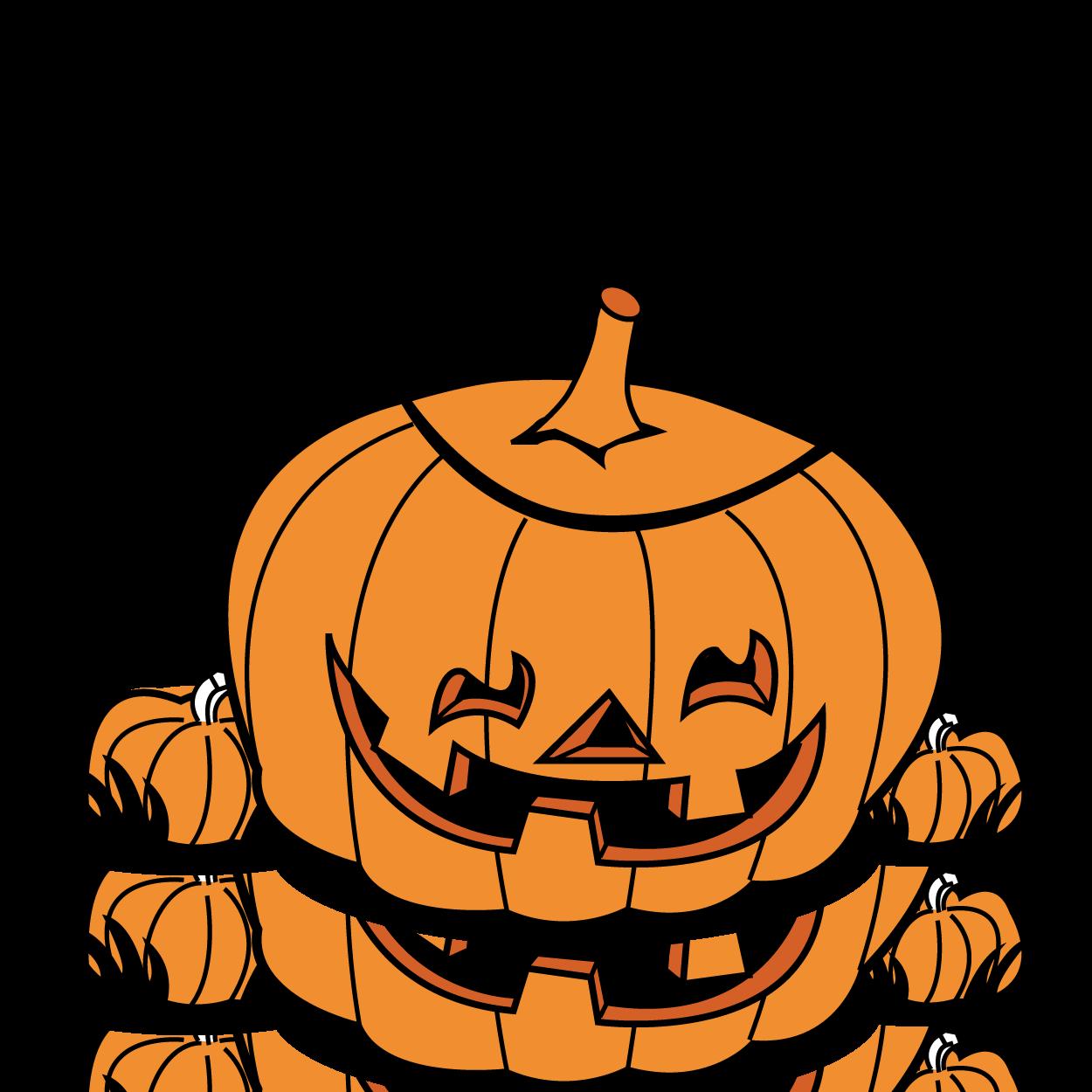 1250x1250 Halloween pumpkin patch clip art free clipart images