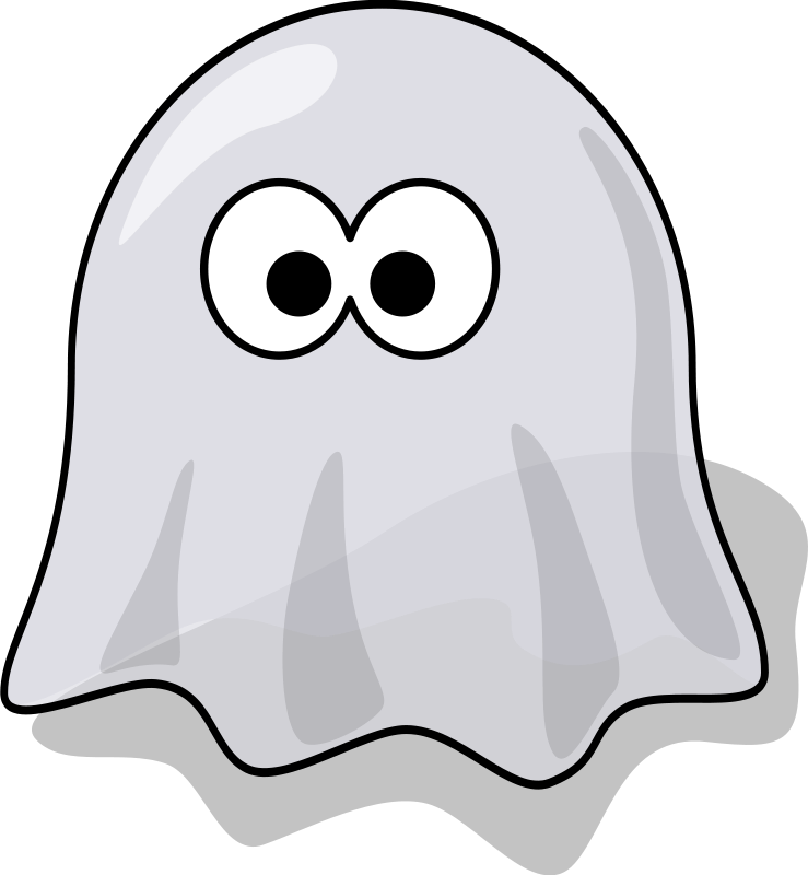 739x800 Ghost Free Stock Photo Illustration of a cartoon halloween