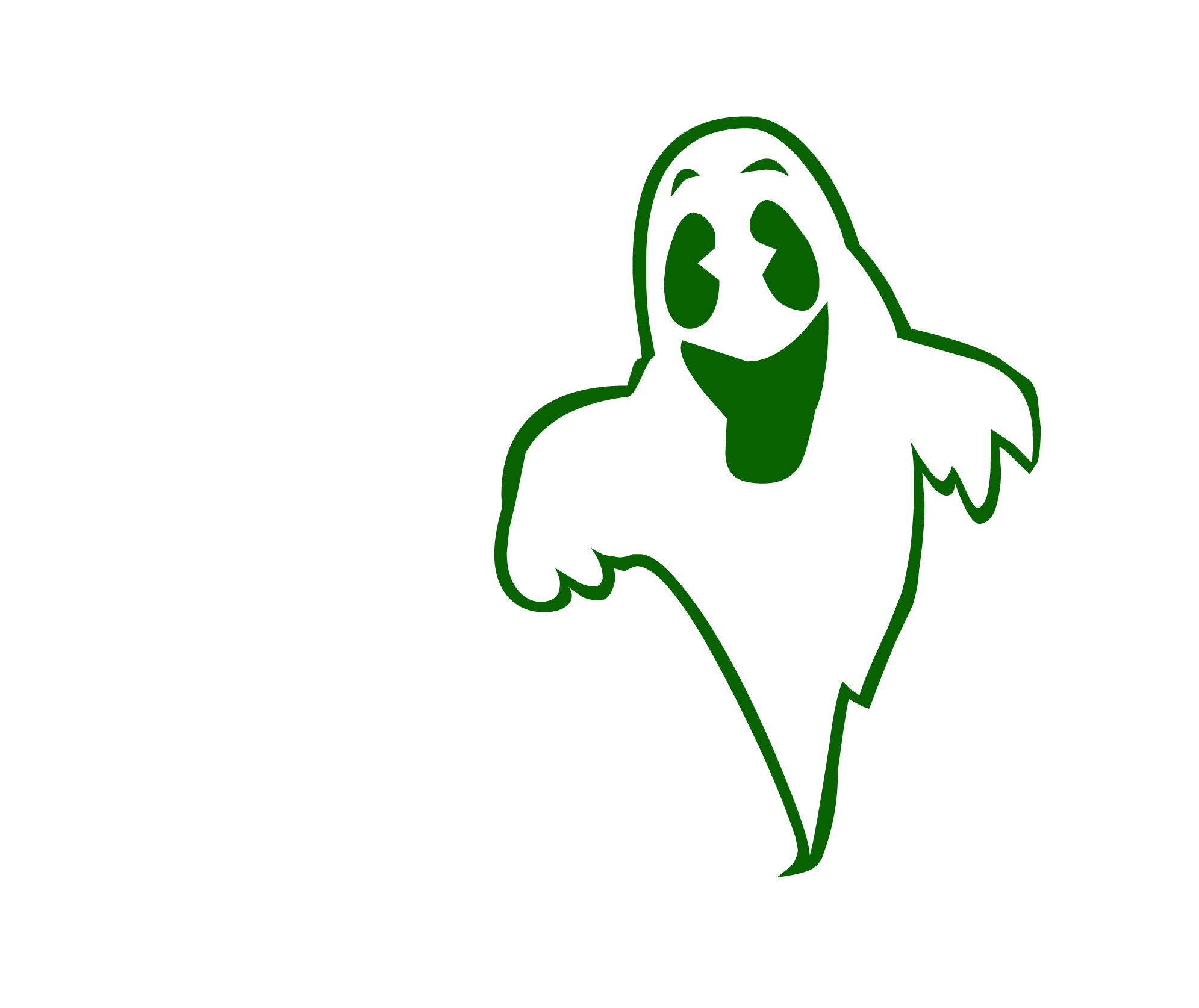 1991x1674 Ghostly clipart happy ghost
