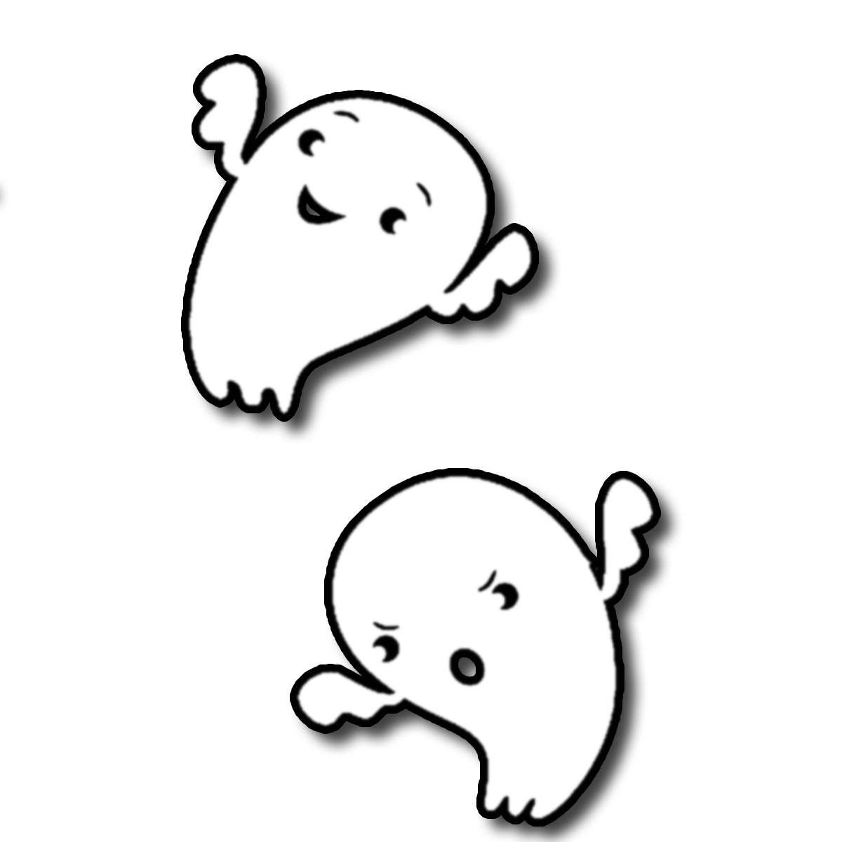 1200x1200 Images For Happy Halloween Ghost Clipart Image
