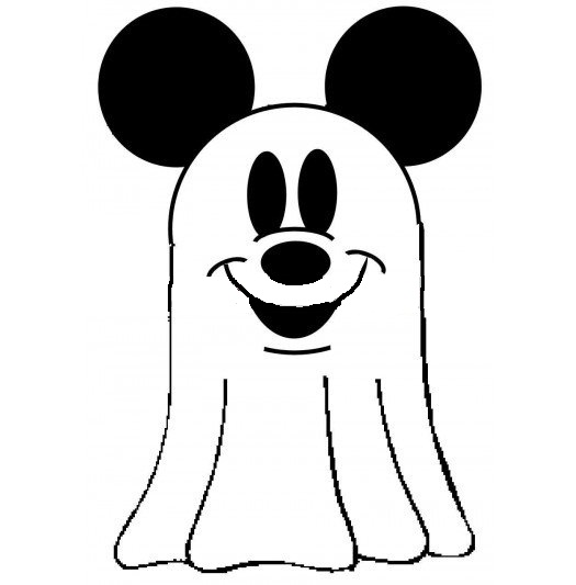 525x533 Halloween Ghost Pictures For Kids Disney Mickey Mouse Halloween