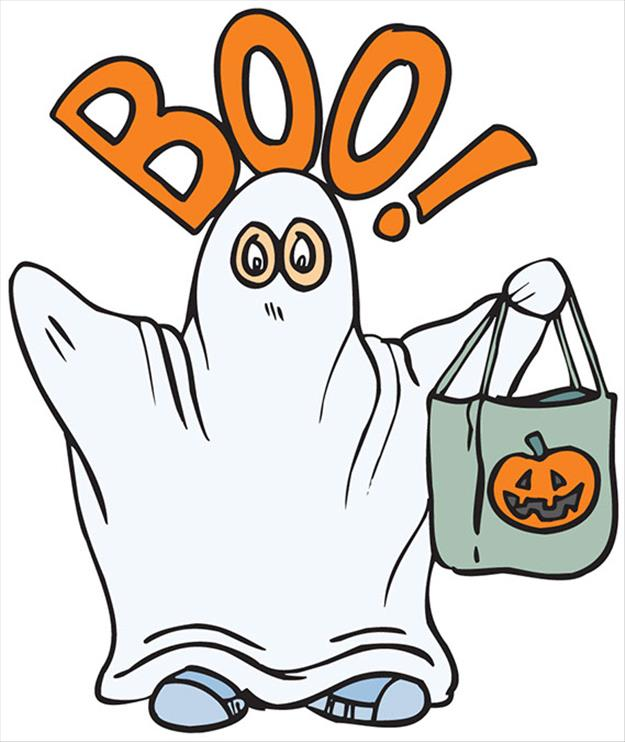 625x742 Free Happy Halloween Ghost Clipart